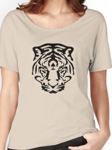 tiger animal wild lion Women's Relaxed Fit T-Shirt