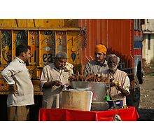 Breakfast With Friar T(r)uck And The Merry Men Photographic Print