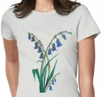 Hyacinthoides non-scripta Womens Fitted T-Shirt