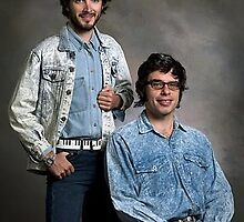Bret and Jemaine  by avangalder