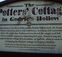 The Potter's Cottage sign by clarebearhh