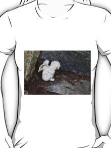Baby Angel Statue T-Shirt