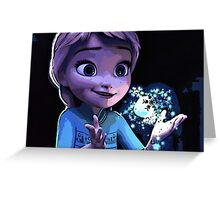Young Elsa Greeting Card