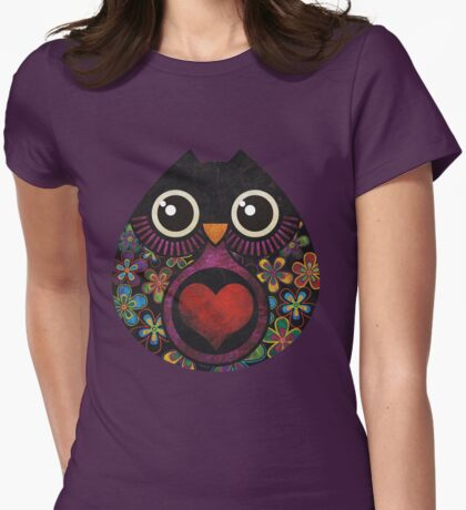 Owl's Hatch Womens Fitted T-Shirt