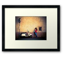 Préparation rendezvous Framed Print