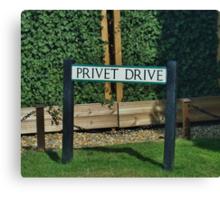 Privet Drive Canvas Print