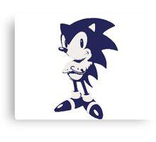 Minimalist Sonic 6 Canvas Print