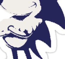 Minimalist Sonic 6 Sticker