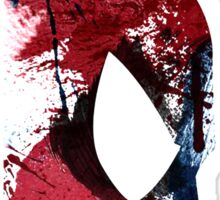 Spiderman abstract design Sticker
