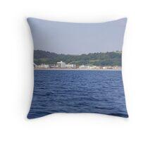 seaton seafront Throw Pillow