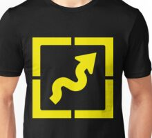 Wavey Arrow Unisex T-Shirt