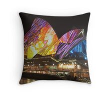 Architecture meets Art Throw Pillow