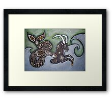 The Sea Goat Framed Print