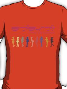 Love Live! School Idol Project band T-Shirt