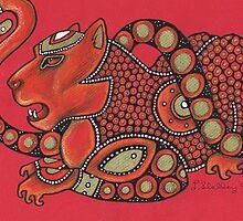 Leopard No. 3 by Lynnette Shelley