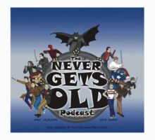 The Never Gets Old Hero Logo Kids Clothes