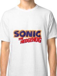 Sonic the Hedgehog Logo Classic T-Shirt