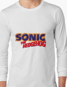 Sonic the Hedgehog Logo Long Sleeve T-Shirt
