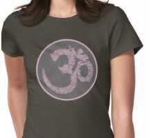 Om... shanti Womens Fitted T-Shirt