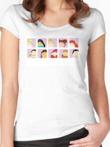 Prince & Princess Tiggle Profile Women's Fitted Scoop T-Shirt