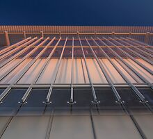 A sunrise shot part of the new wing of Chicago's Art Institute. by Sven Brogren