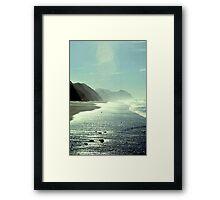At the Beach 1005.B Framed Print