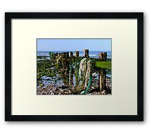 In search of the Trawlerman Framed Print