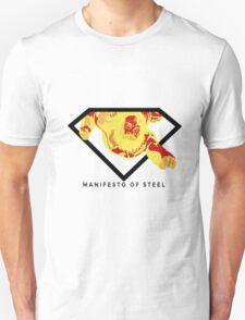 Manifesto of Steel T-Shirt