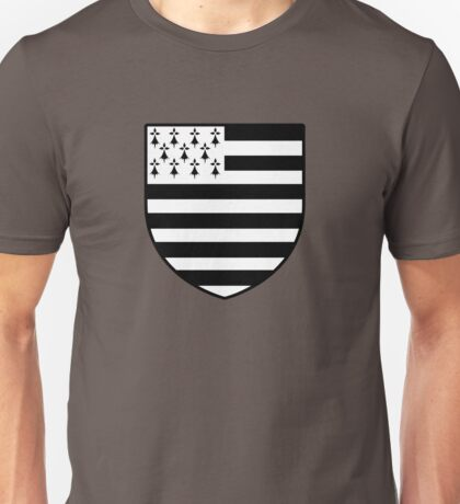 blason breton bretagne breizh bzh Unisex T-Shirt