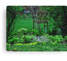 Visual Texture My Secret Garden Canvas Print