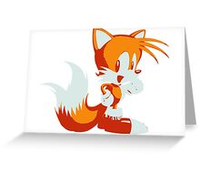 Minimalist Tails Greeting Card