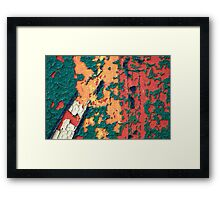 A perfect coloured dream Framed Print