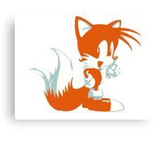 Minimalist Tails 2 Canvas Print