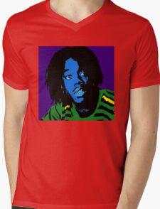 Pop Sanka Coffie Mens V-Neck T-Shirt
