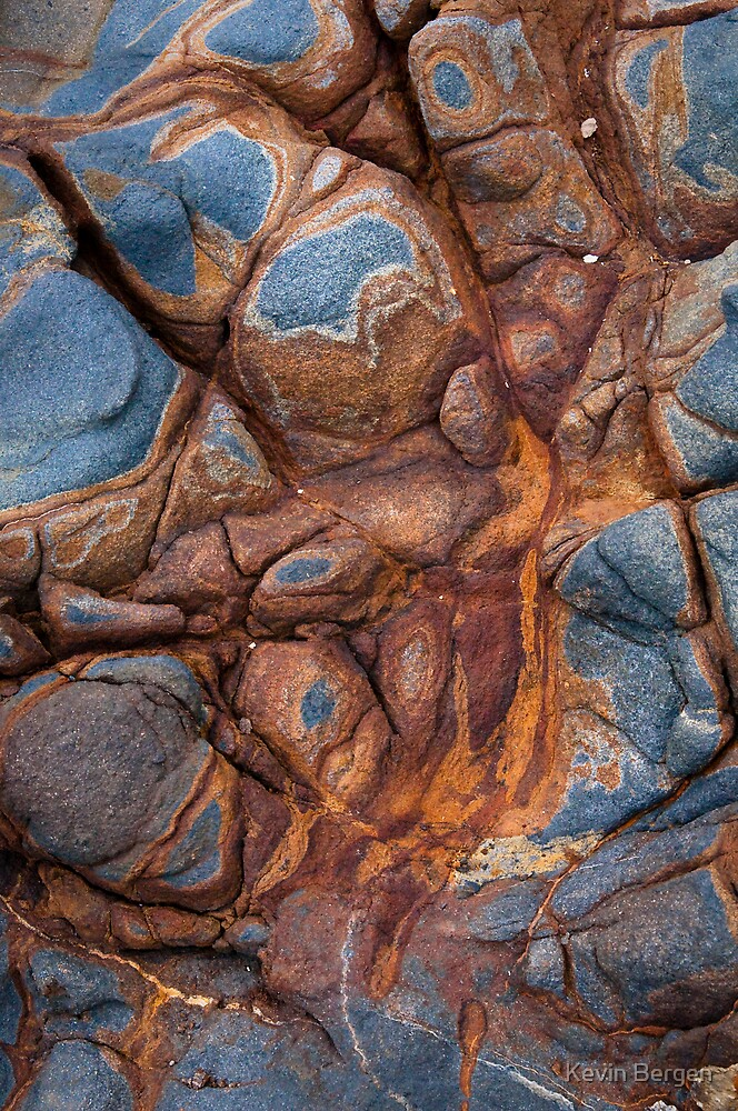 Cove Texture III by Kevin Bergen