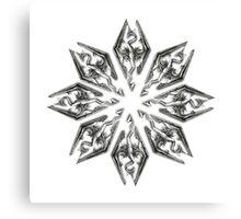 Skyrim Star Canvas Print