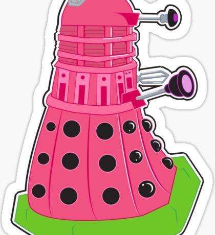 Watermelon Dalek Sticker