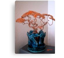 Copper Tree in Double Dragon  Canvas Print