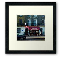 Speedy's Sandwich Bar  Framed Print