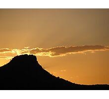 Sunset in Prescott, Arizona Photographic Print