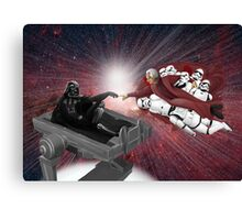 CREATION OF VADER Canvas Print