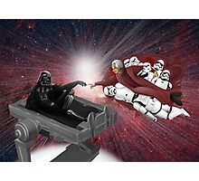 CREATION OF VADER Photographic Print