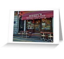 Speedy's Sandwich Bar 2.0 Greeting Card
