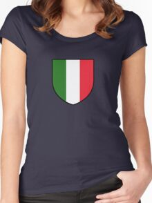 italia Women's Fitted Scoop T-Shirt
