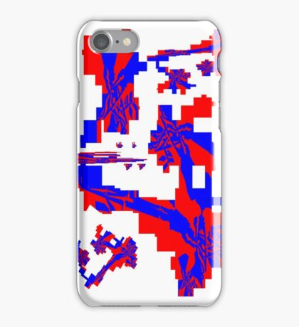 Red White Blue iPhone Case/Skin