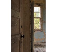 Abandoned school for the feeble minded Photographic Print