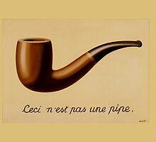 Renè Magritte - Ceci n'est pas une pipe by Selfcontrol