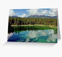 Valley of the Five Lakes, Jasper, Alberta, Canada Greeting Card
