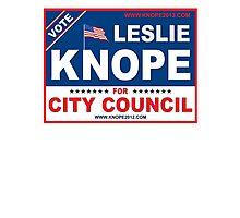 Vote Leslie Knope 2012 Photographic Print