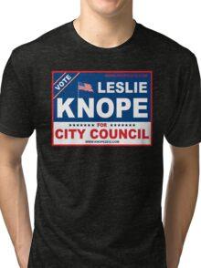 Vote Leslie Knope 2012 Tri-blend T-Shirt